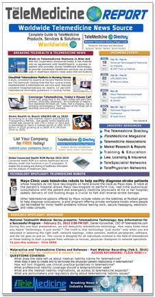 TeleMedicine Report Newsletter